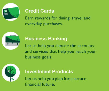 TD Bank Features