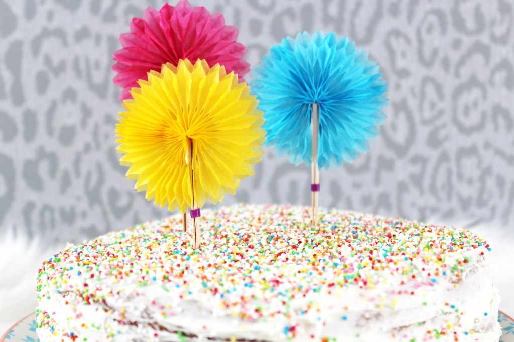 Confettitaart, de perfecte taart voor elk feestje!