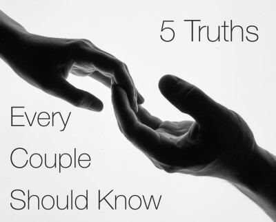 5 truths every couple should know about marriage.