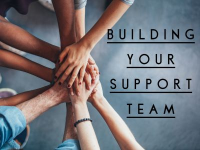 How to build your support team to get you through your marriage crisis.