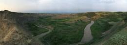 Rosebud River panoramic