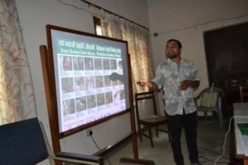 Kamal speaking about snake identification