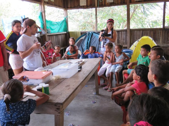 Teaching for snake conservation