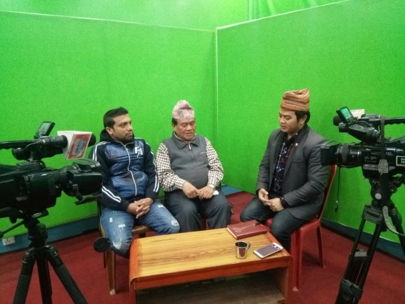 Dr. Chhabilal Thapa and Mr. Kamal Devkota were interviewed by KB Rana