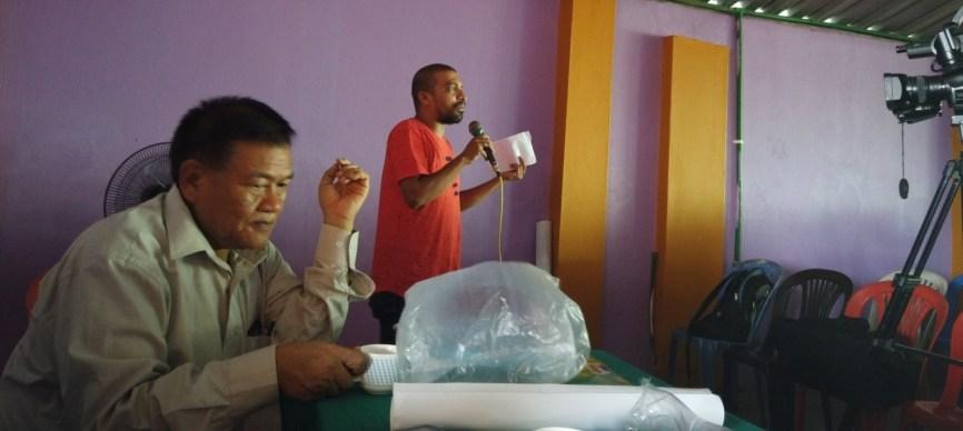 Mr. Kamal Devkota sharing his knowledge to the students
