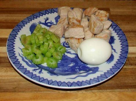 les ingrédients du porc au caramel vietnamien cuits