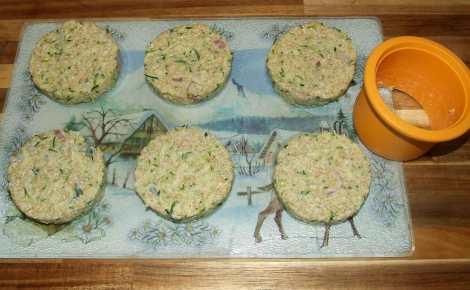 la confection de galette de quinoa