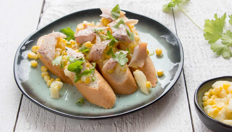 salade au maïs