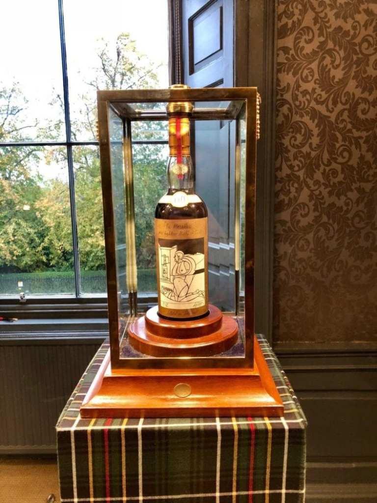 Le prix hallucinant de la bouteille de whisky la plus chère du monde