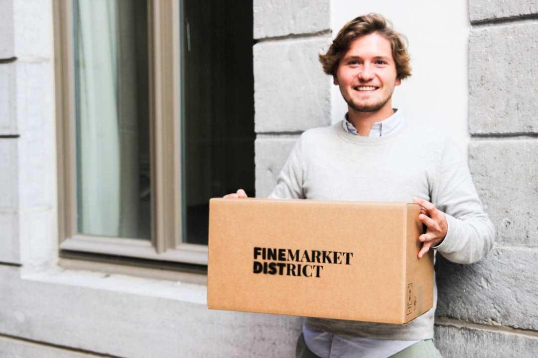 Grâce à Finemarket District, l'épicerie de luxe est enfin accessible