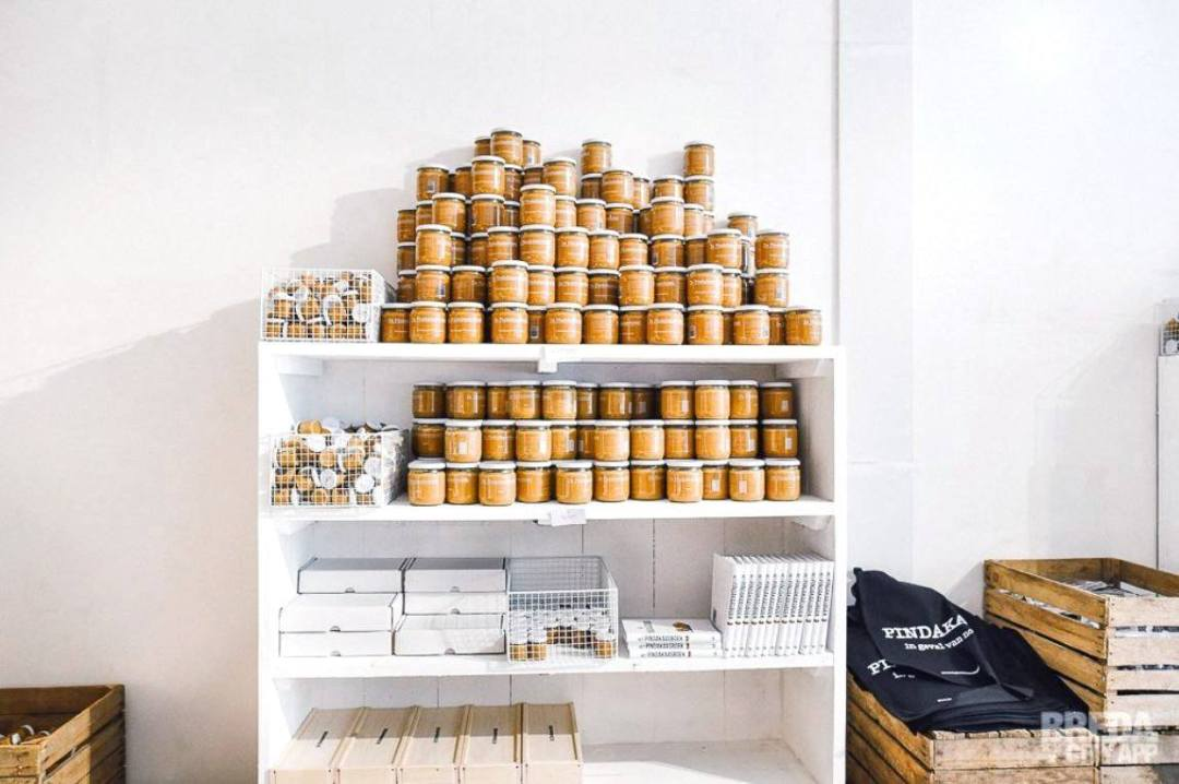 beurre de cacahuètes - pindakaaswinkel