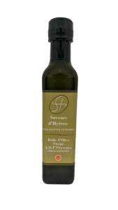 Huile d'olive maturée de Provence saveurs d'hyères