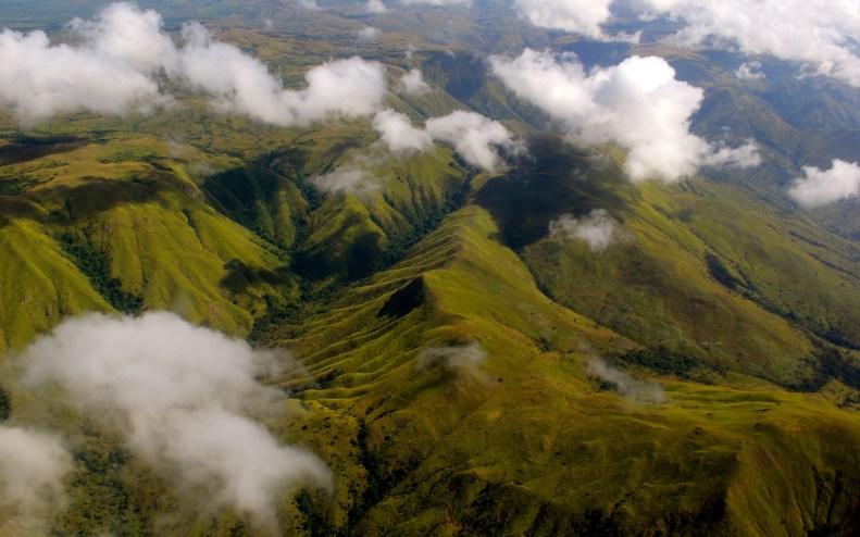 Photo MONUSCO/Adeniyi Oluw set of mountains in the region of Ituri, Oriental Province, DR Congo.