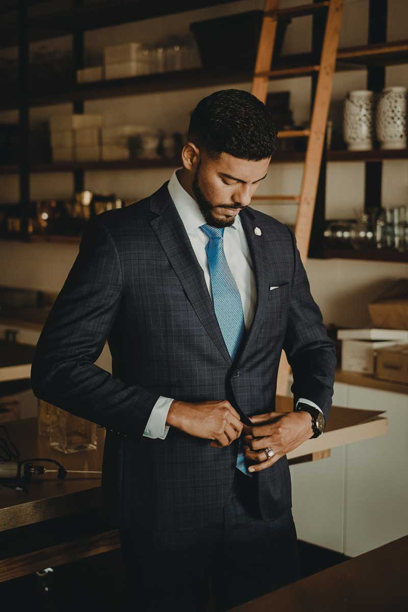 When to Button or Unbutton a Suit Coat (or Sport Coat)