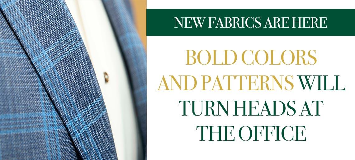 New Fabrics are Here!