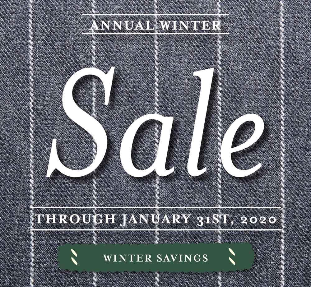 Savile Row Winter Sale