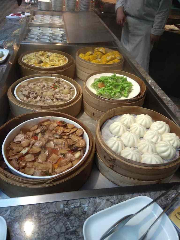 台北福華大飯店彩虹座自助餐吃到飽Rainbow Terrace-1000元有找buffet好選擇-港點區
