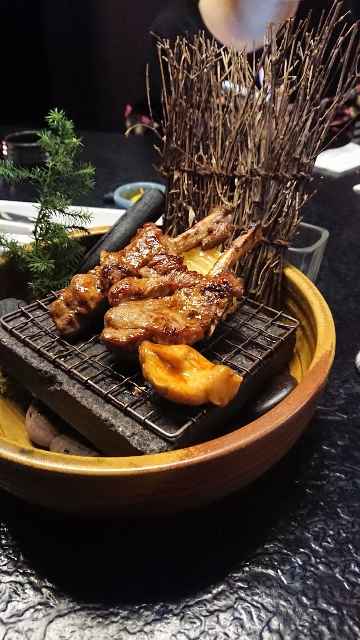 ikki藝奇新日本料理-煙燻醬燒羊排