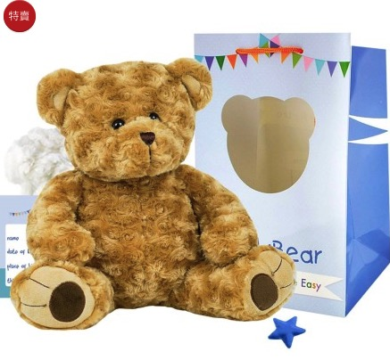 More Than a Bear 呼呼熊手作工坊 經典手作泰迪熊