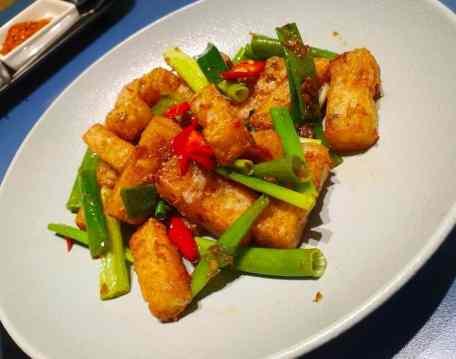 念念菜味:瑤柱醬爆蘿蔔糕