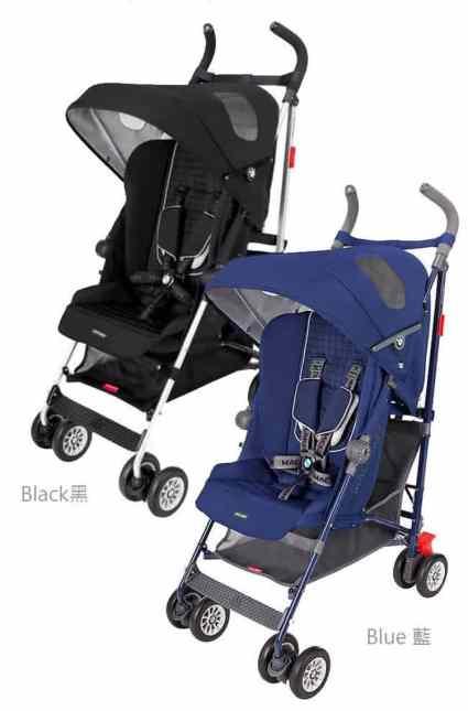嬰兒推車 英國 Maclaren瑪格羅蘭 BMW品味傳承聯名款推車
