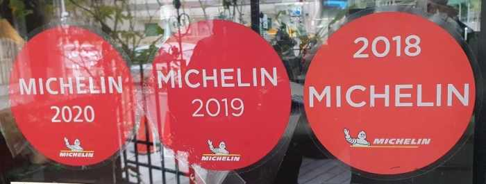 Monsieur L Restaurant L先生義法餐廳 連續三年獲得米其林餐盤