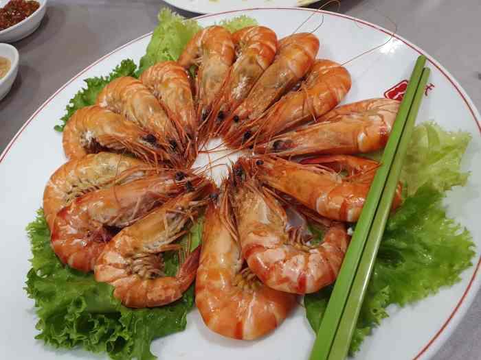 天廚菜館 四味活蝦