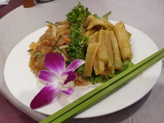 天廚菜館 梨山芹菜+涼拌海蜇皮