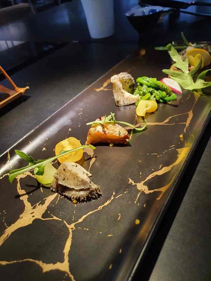 Toh-A 桌藏餐廳 冷前菜-鮑魚搭配朝鮮薊