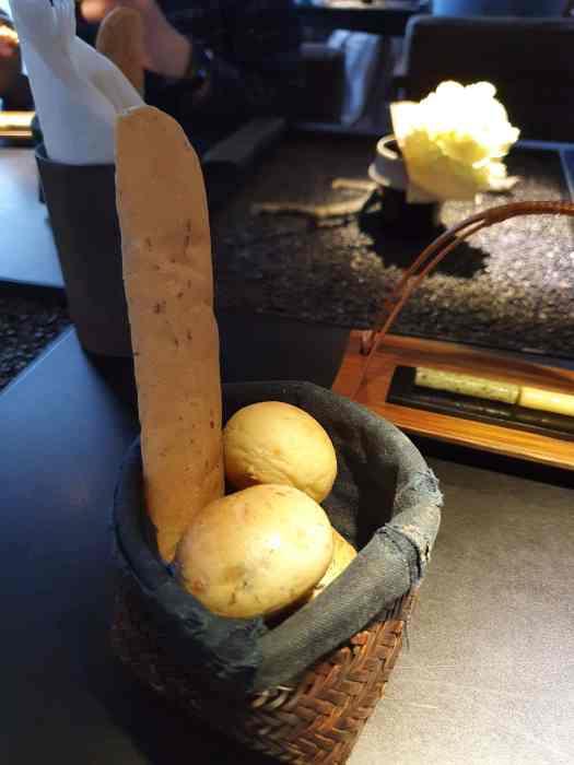 Toh-A 桌藏餐廳 餐前麵包