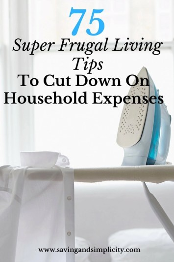 75 super frugal living money saving tips