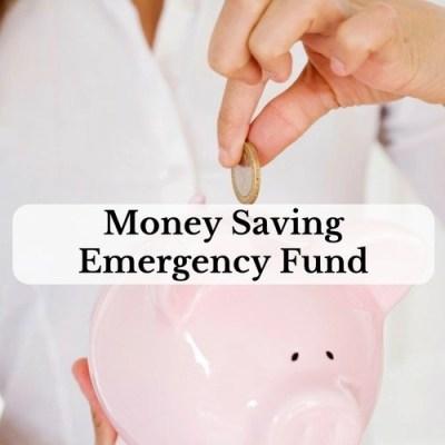 Money Saving Emergency Fund