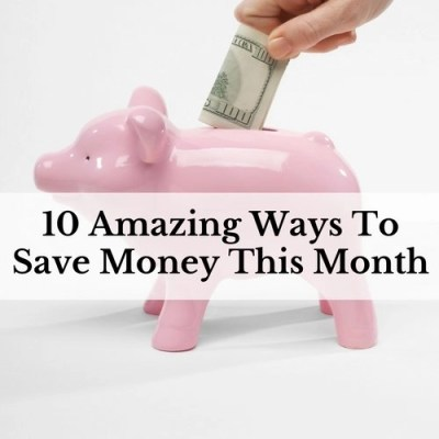 Have you ever sat there looking at the bills and the budget and just wondered how? How are you going to save money this month? Learn 10 ways to save money.