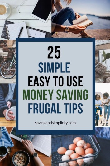 Don't let your expenses wreck the budget.Discover 25 frugal living tips designed to help you save money and decrease your household expenses.