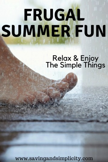 Frugal summer fun. Kids activities, family activities. Have a blast this summer and save money. Summer bucket list 25 super frugal family fun things to do.