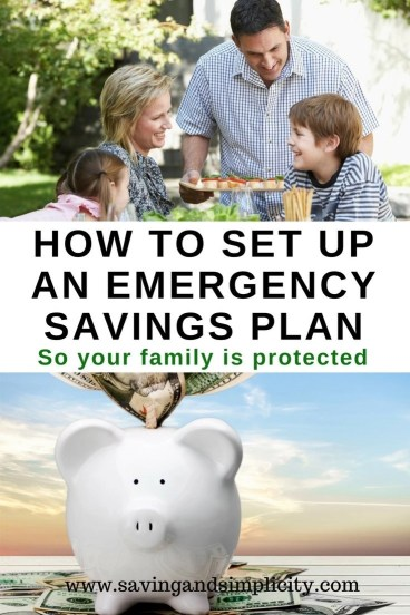 Step by step easy instructions to help you set up an emergency savings plan to protect you and your family. Have the money when you need it. Help is here.