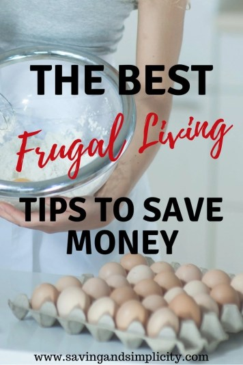 Are you frugally stuck? Looking for ways to save money on your home expenses. Here are 50 of the best ways to live frugally and save money.