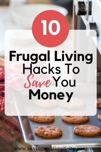 10 simple and easy frugal living hacks to save you money. Home is where your heart is. Start saving money on your home expenses. Live frugally.