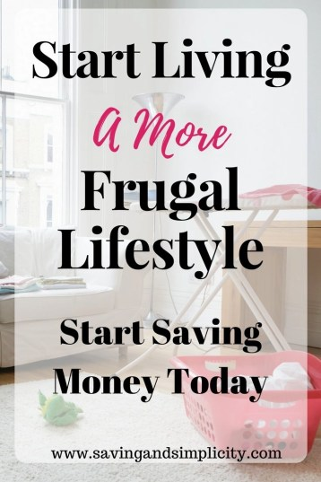 Start saving more money. Learn 10 frugal living tips to help you save money on your home expenses. Cut costs and start living a more frugal lifestyle.