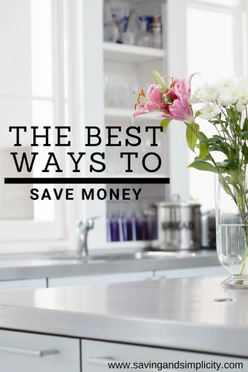 The best ways to save money. Simple, easy to follow money saving tips you can implement today. Start saving money with these 50 money saving tips.