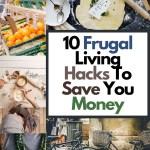 money saving frugal hacks
