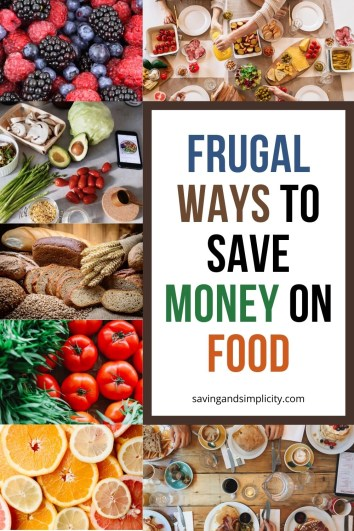 frugal ways to save money on food