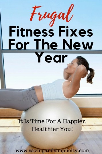 Is losing weight on your resolution list? Or is fitting into your pre-baby jeans & feeling better about yourself sound more like it? Frugal fitness fixes.