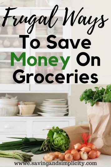 Do the cost of groceries have you stressed? Are you wondering how to save money at the grocery store and still provide for your family? Learn frugal ways to help you save money on groceries.