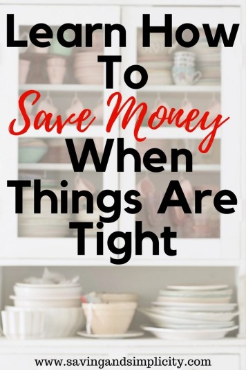 Is money tight? Are you stressed because you want to save but you just don't know how? Learn how to save money even when things are tight. Learn how to make it beyond paycheck to paycheck.
