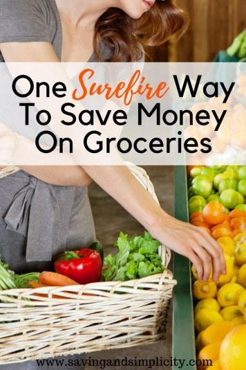 Have you noticed the increase in the price of groceries? Are you wondering how you can afford to eat healthier, when your budget is tight and getting tighter? Learn the one surefire way to save money on groceries. It is not coupons.