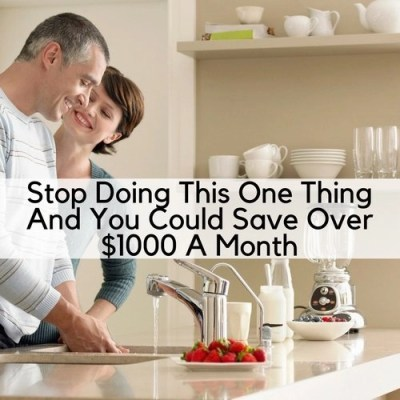 Stop Doing This One Thing And You Could Save Over $1000 A Month