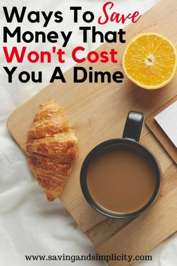Everyone loves to save money. And why not we work hard for it. Learn amazing ways to save money that won't cost you a dime. No more spending money to save money. Simple easy, frugal living solutions to help you save big money.
