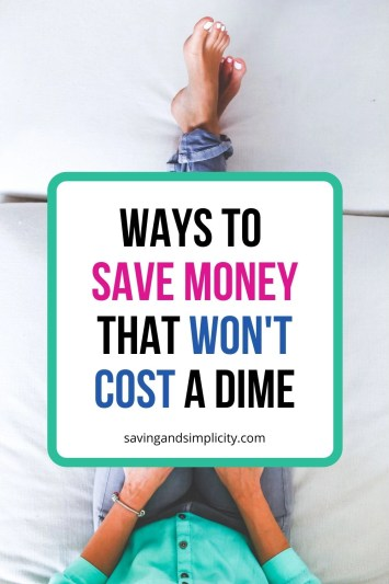 Are you tired of spending money to save money? You need this article! Learn some amazing ways to save money that won't cost you a dime. Simple tips and tricks to help you save your hard earned cash.