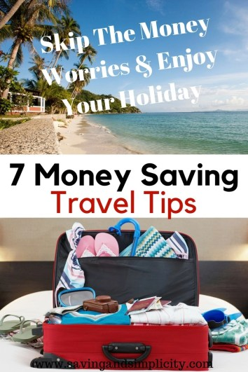 Holiday time is just around the corner. Are you staycationing? Hopping on a plane to some far off destination? Or road tripping the countryside? Learn 7 ways to save more money on your next vacation.
